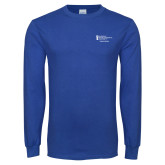 Royal Long Sleeve T Shirt-Student Advising