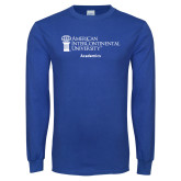 Royal Long Sleeve T Shirt-Academics