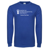 Royal Long Sleeve T Shirt-Career Services