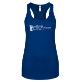 Next Level Ladies Royal Ideal Racerback Tank-American Intercontinental University