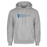 Grey Fleece Hoodie-American Intercontinental University