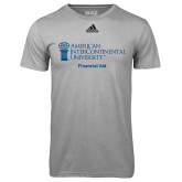 Adidas Climalite Sport Grey Ultimate Performance Tee-Financial Aid