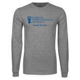 Grey Long Sleeve T Shirt-Career Services