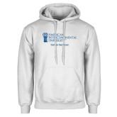 White Fleece Hoodie-Career Services