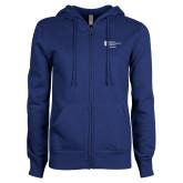 ENZA Ladies Royal Fleece Full Zip Hoodie-Admissions