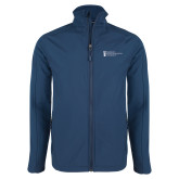 Navy Softshell Jacket-American Intercontinental University