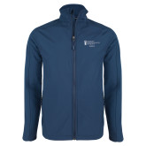 Navy Softshell Jacket-Academics