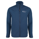 Navy Softshell Jacket-Student Advising