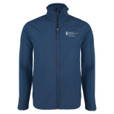Navy Softshell Jacket-Alumni Services