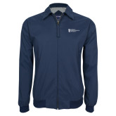 Navy Players Jacket-American Intercontinental University