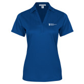 Ladies Royal Performance Fine Jacquard Polo-American Intercontinental University