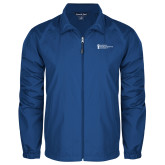 Full Zip Royal Wind Jacket-American Intercontinental University