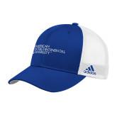 Adidas Royal Structured Adjustable Hat-American Intercontinental University