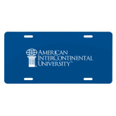 License Plate-American Intercontinental University