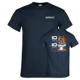 Navy T Shirt-AR-22 10 test in 10 days