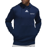 Adidas Navy Team Issue Hoodie-Primary Mark