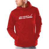 Under Armour Red Armour Fleece Hoodie-Primary Mark