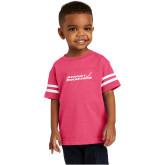 Toddler Vintage Hot Pink Jersey Tee-Primary Mark