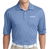 Nike Golf Dri Fit Royal Heather Polo-Primary Mark