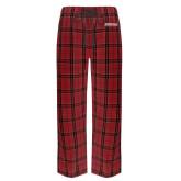 Red/Black Flannel Pajama Pant-Primary Mark