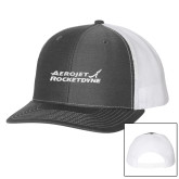 Richardson Charcoal/White Trucker Hat-Primary Mark
