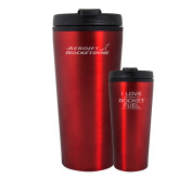 Tempe Red Double Wall Tumbler 16oz-Primary Mark Engraved