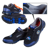 Apollo 50 Mens Black Skechers Shoe-Size 11 to 16