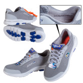 Apollo 50 Mens Gray Skechers Shoe-Size 11 to 16 WIDE