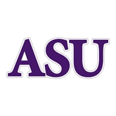 Large Decal-ASU, 12 in W