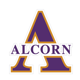 Small Decal-Alcorn Official Logo, 6 in W