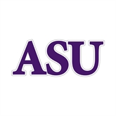 Small Decal-ASU, 6 in W