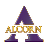 Small Decal-Alcorn A, 6 inches tall