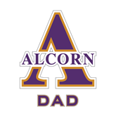 Dad Decal-Alcorn Official Logo, 6 in W