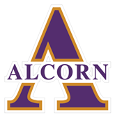 Extra Large Decal-Alcorn Official Logo, 18 in W