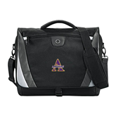 Slope Black/Grey Compu Messenger Bag-Alcorn Official Logo