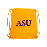 Alcorn Gold Drawstring Backpack-ASU