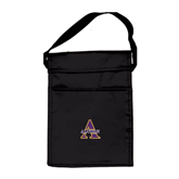 Koozie Black Lunch Sack-Alcorn Official Logo