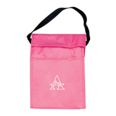 Koozie Pink Lunch Sack-Alcorn Official Logo