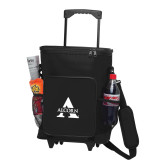 30 Can Black Rolling Cooler Bag-Alcorn A