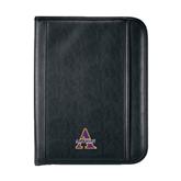 Insight Black Calculator Padfolio-Alcorn Official Logo