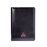 Wall Street Black Junior Writing Pad-Alcorn Official Logo