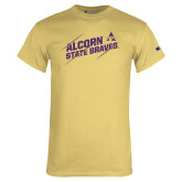 Champion Vegas Gold T Shirt-Alcorn State Braves