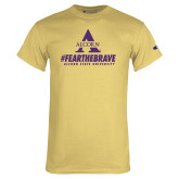 Champion Vegas Gold T Shirt-Fear the Brave