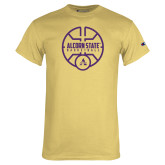 Champion Vegas Gold T Shirt-Alcorn State Basketball