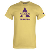 Champion Vegas Gold T Shirt-Alcorn Grandpa