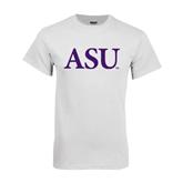 Alcorn White T Shirt-ASU