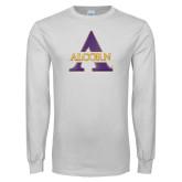 White Long Sleeve T Shirt-Alcorn A