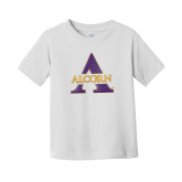 Toddler White T Shirt-Alcorn A
