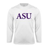 Syntrel Performance White Longsleeve Shirt-ASU