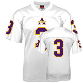 Replica White Adult Football Jersey-#3